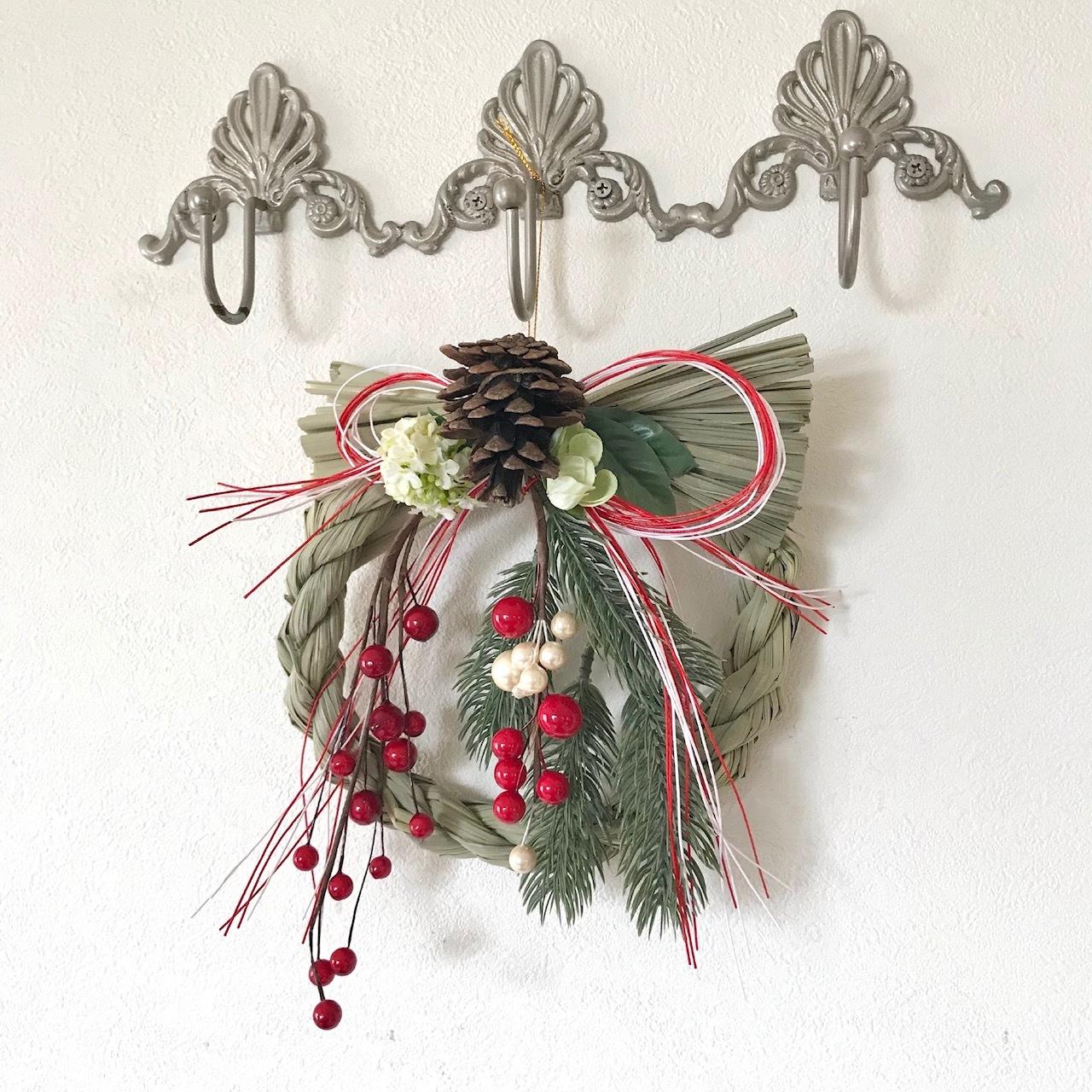 しめ縄飾り装飾例画像