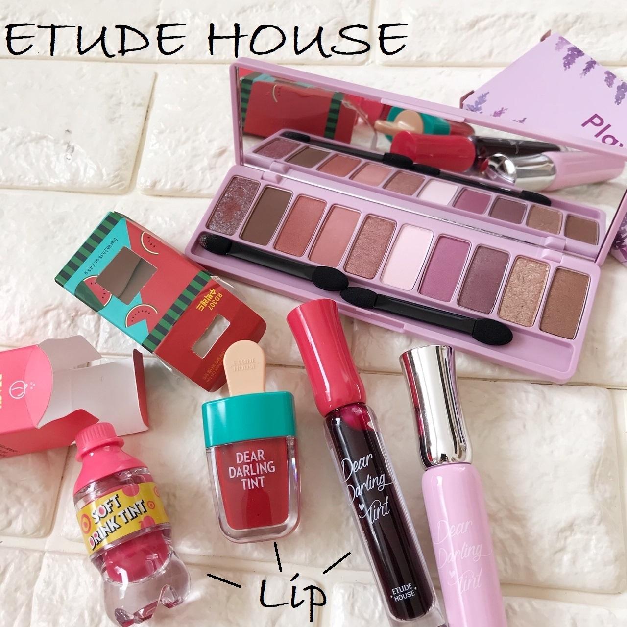 エチュードハウスの化粧品画像