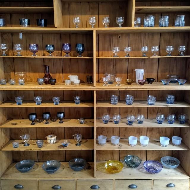 GRICE*お米が溶け込んだ青いガラス ~花岡央 glass展にて~_1_3