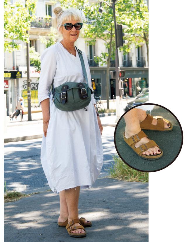 【パリマダムの最新コーデSNAP】この夏はリラックススタイル+フラット靴が人気!
