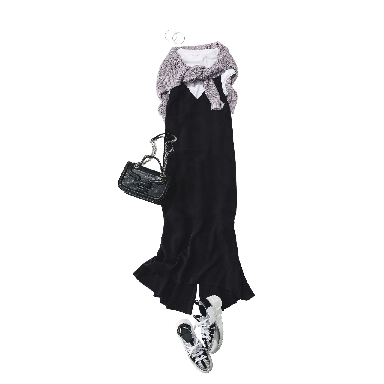 【真夏こそ映える黒コーデ】重たく見えず、シックに決まるアラフォーの黒コーデまとめ|40代ファッション_1_7