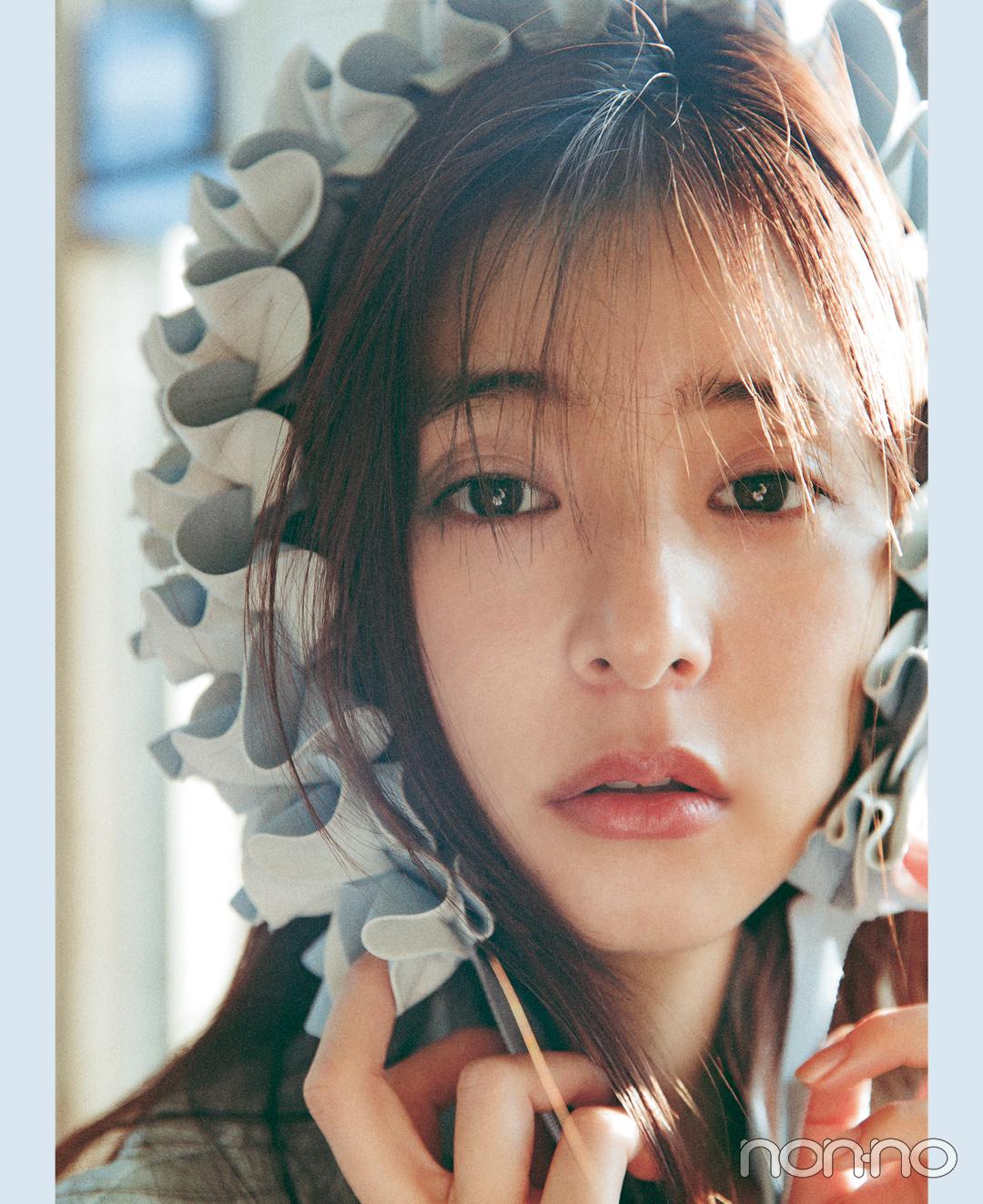 新木優子 ビューティスタイルブック「新木式」の未公開カット