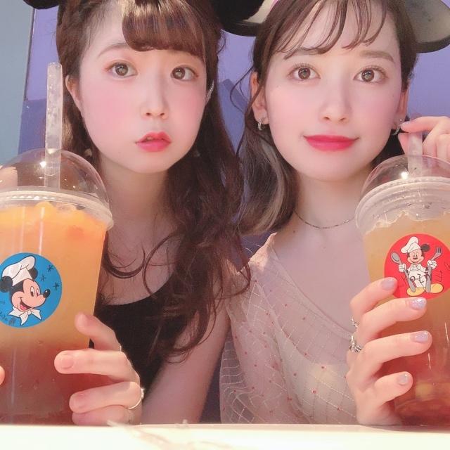 【 TokyoDisneyland 】時間限定 の タピオカ !?_1_3-2