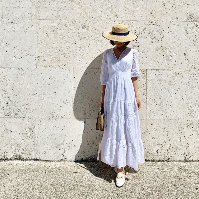今年の夏の旅行はワンピースで女っぷり_1_1