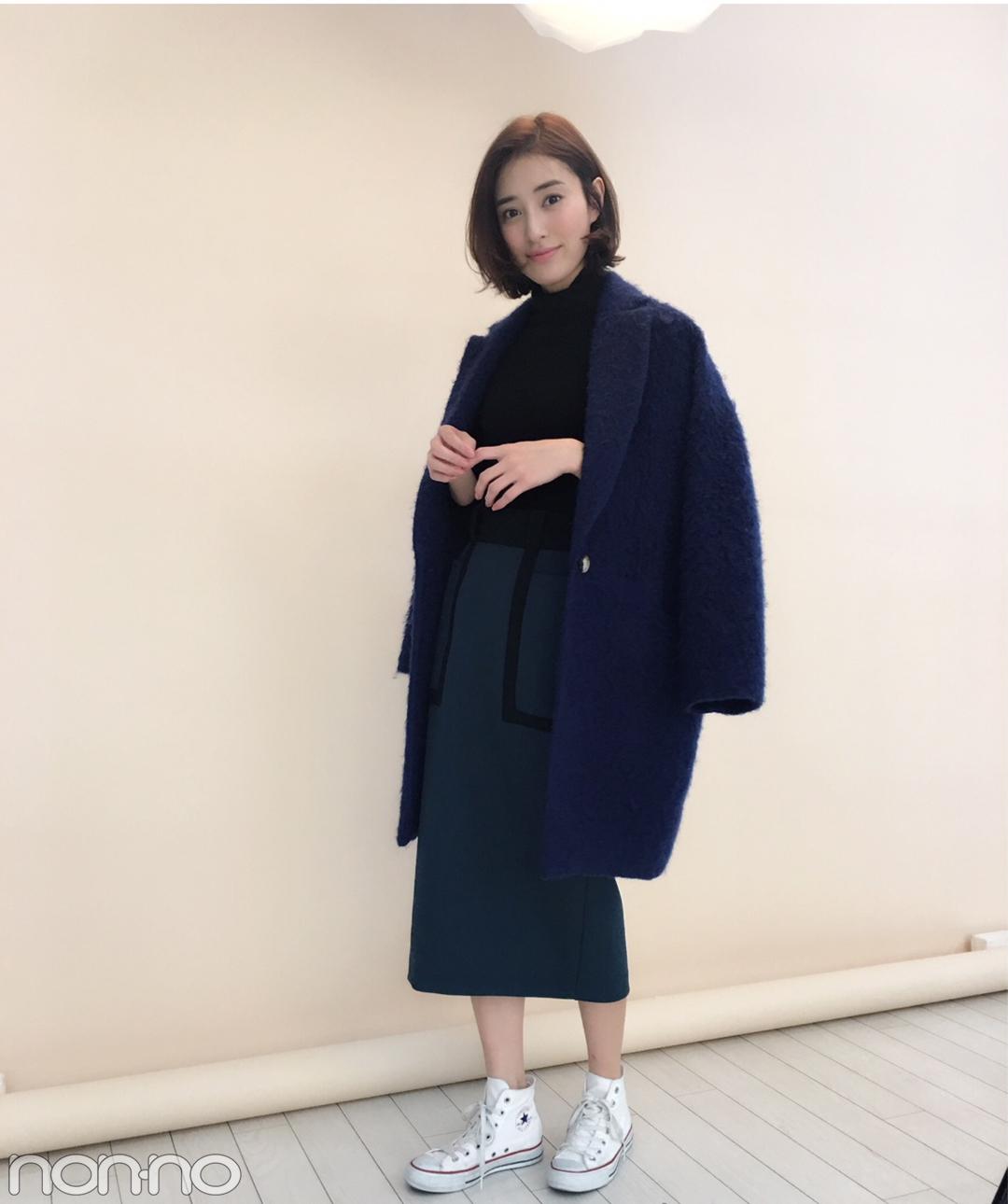 岡本あずさはユニクロのタートル×コンバースで上品カジュアル♡【モデルの私服】_1_1