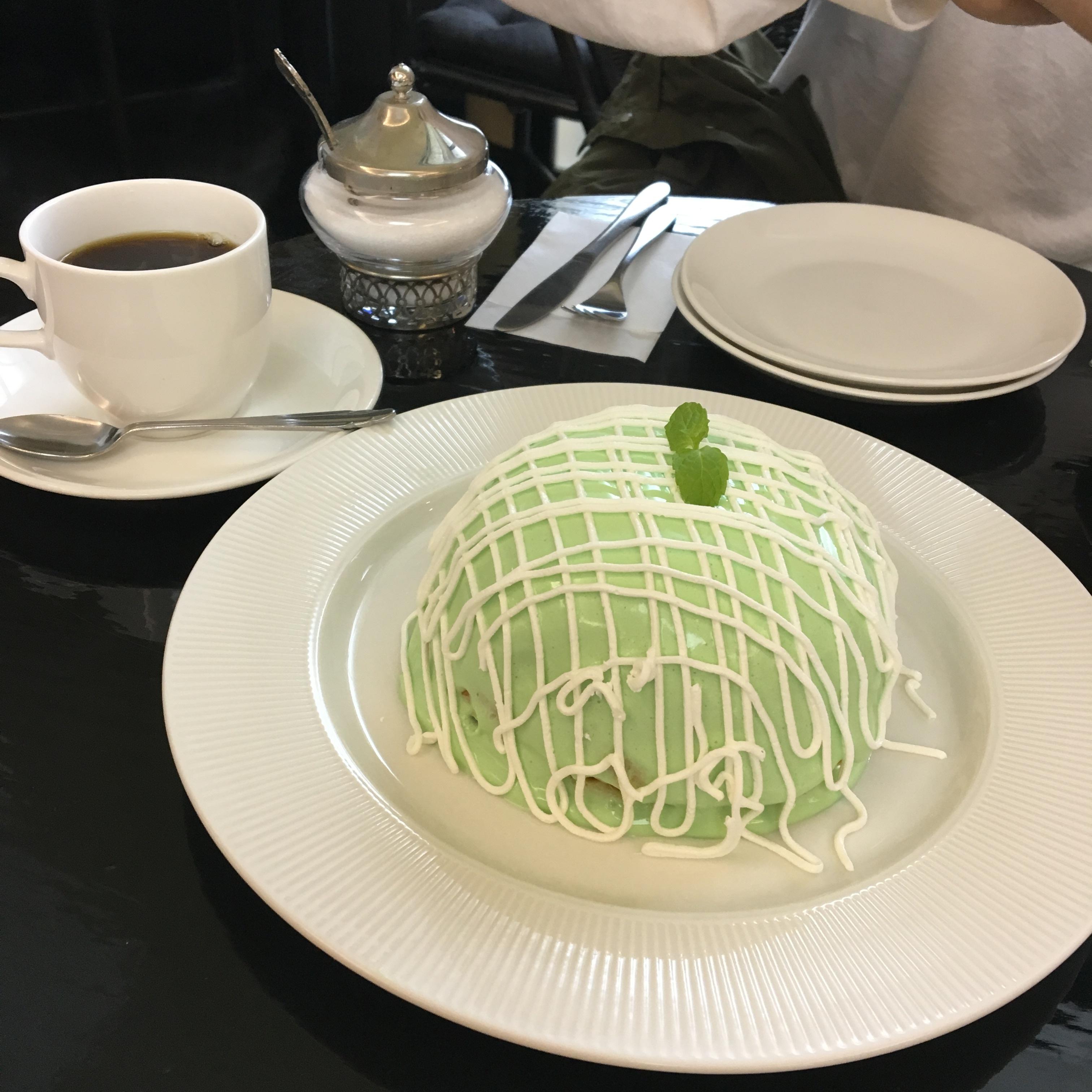 【インスタ映え❤︎】銀座のメロンパンケーキ♡_1_2
