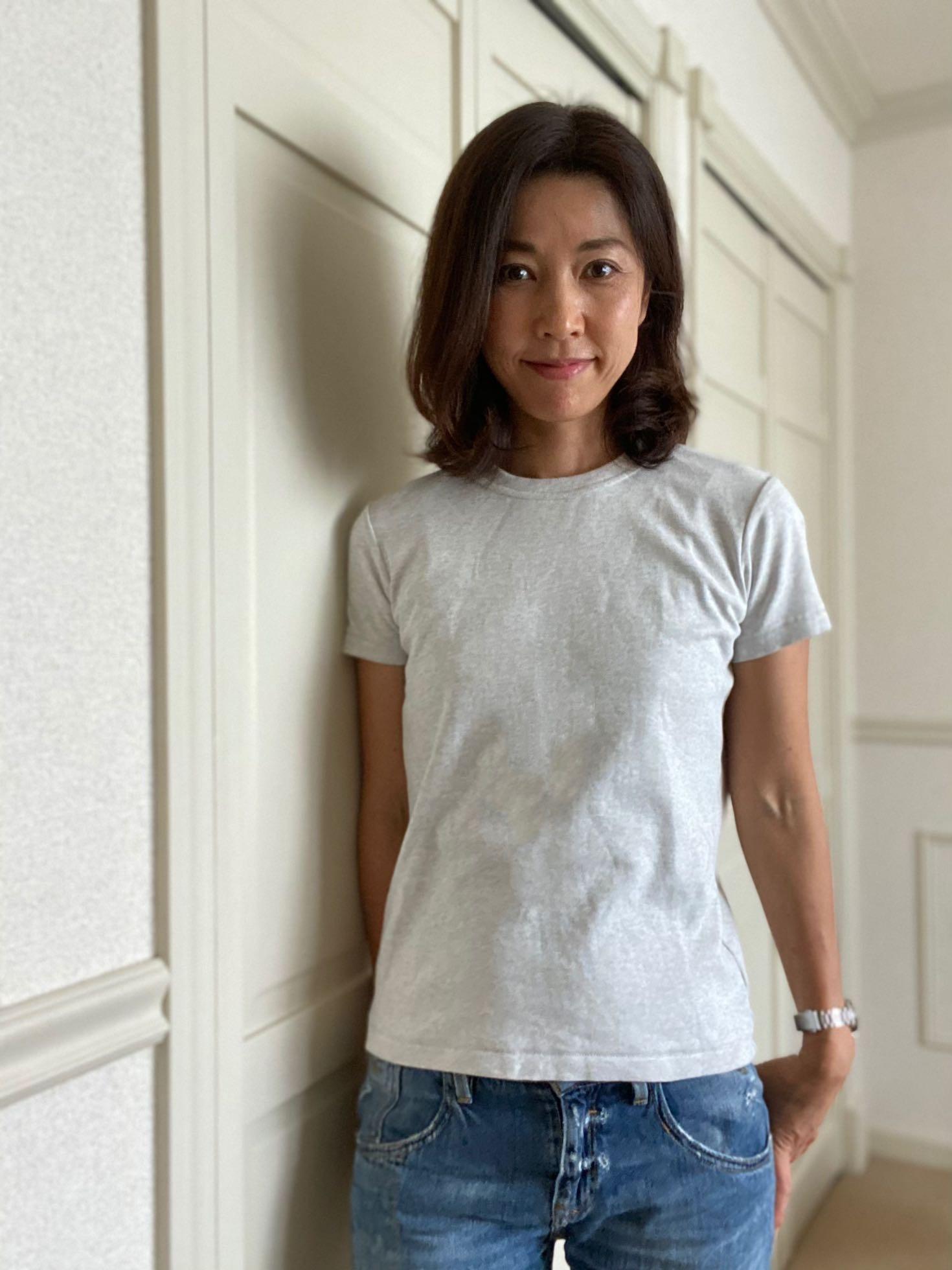 UNIQLOのTシャツは出番多し♩_1_3