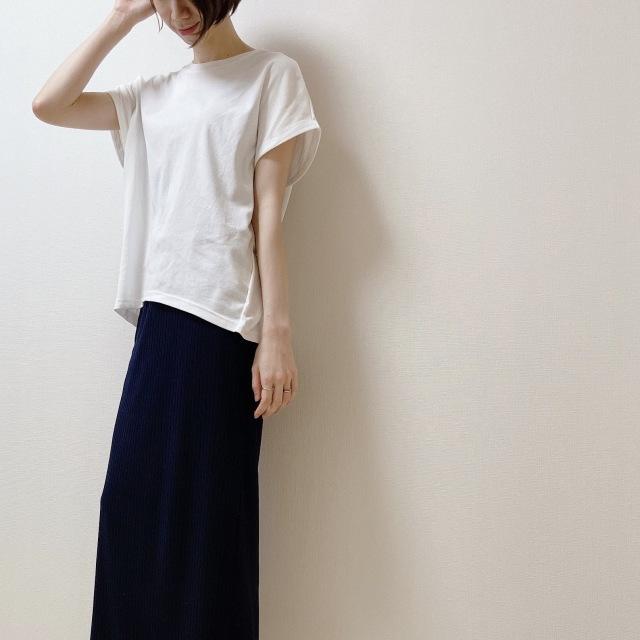 盛らなくてもサマになる! N.O.R.Cの白Tシャツ【40代のスタイルアップコーデ #6】_1_4