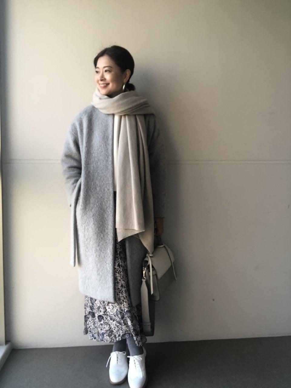 三尋木奈保さんコーデ