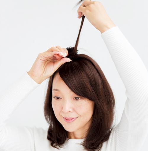 アラフォーの髪悩み「薄毛」問題はスタイリングが強い味方!_3_5