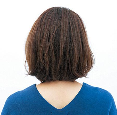 色々なスタイルに対応!頭の形をよくみせる長めボブヘア【40代のボブヘア】_1_3