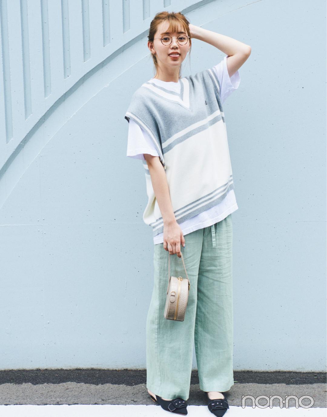 流行りのベスト、メンズを選んでゆるめに着るのが可愛い!【男子服vol.1】_1_3-2