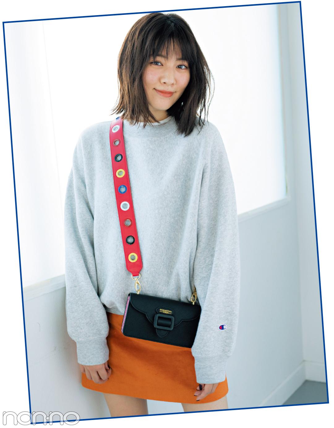 インスタ映え必至♡ サマンサベガのバッグも、ストラップを付け替え!_1_1