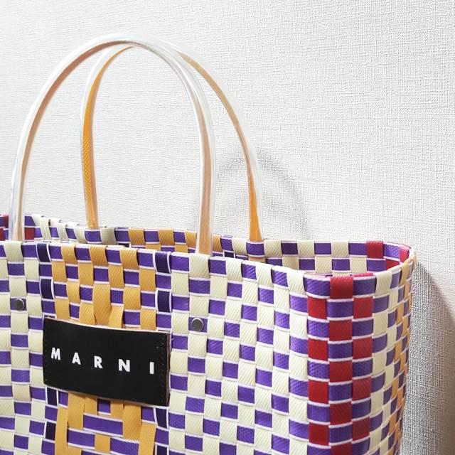 MARNI STONE MARKETへ♪ピクニックバッグは秋まで使える断トツお洒落なかごバッグ_1_5