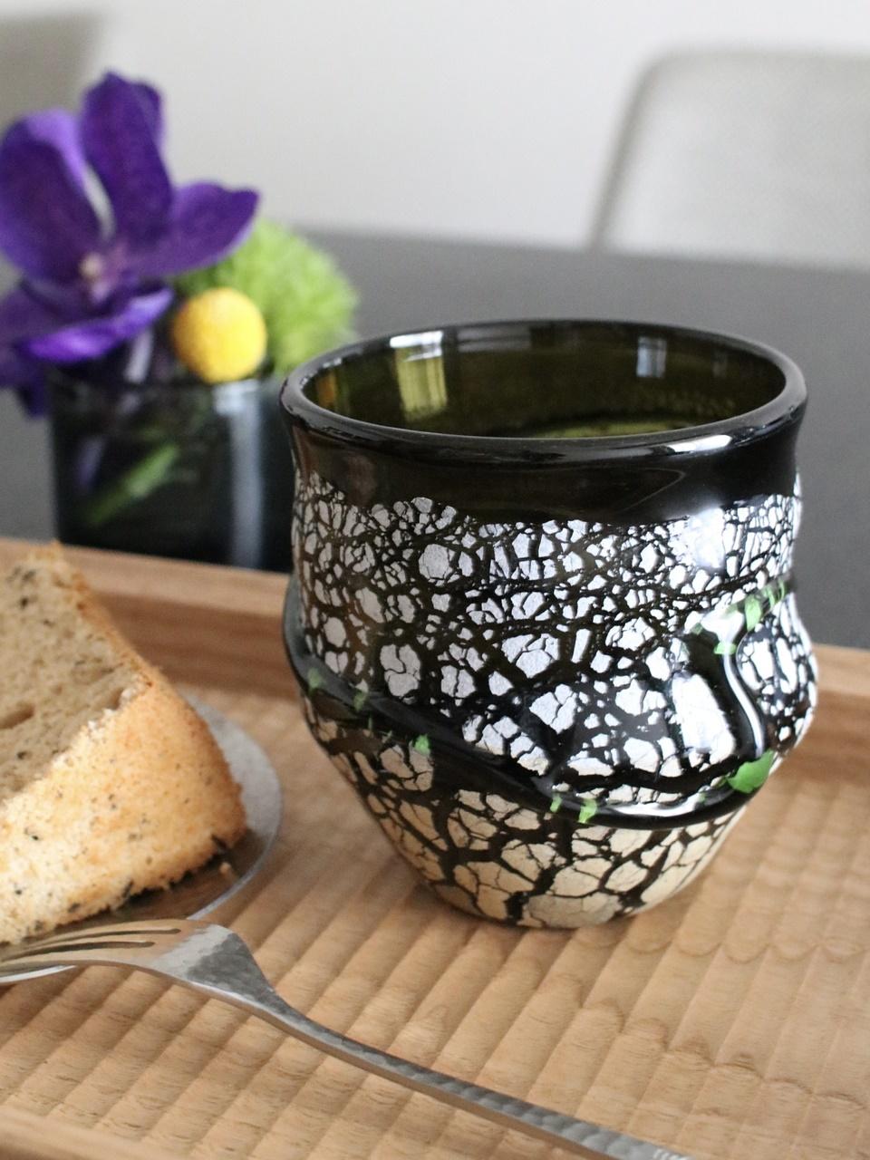 琉球グラスのカップ
