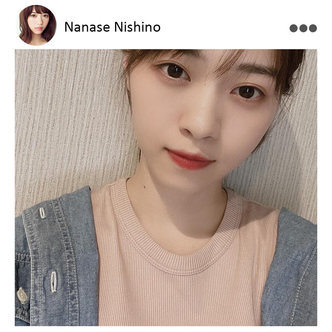 西野七瀬 Instagram(@nonno_magazine)