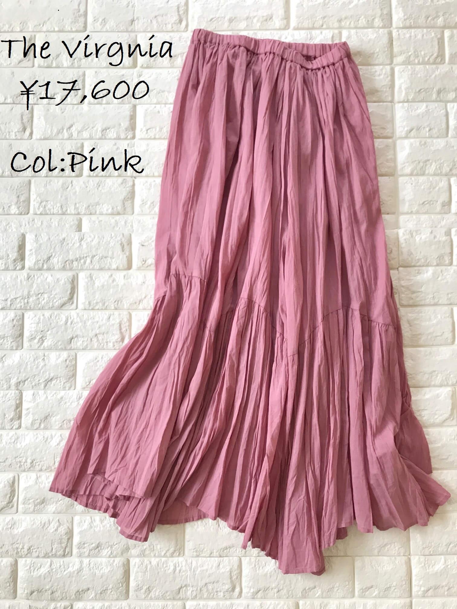 ザ・バージニアのピンクスカート画像