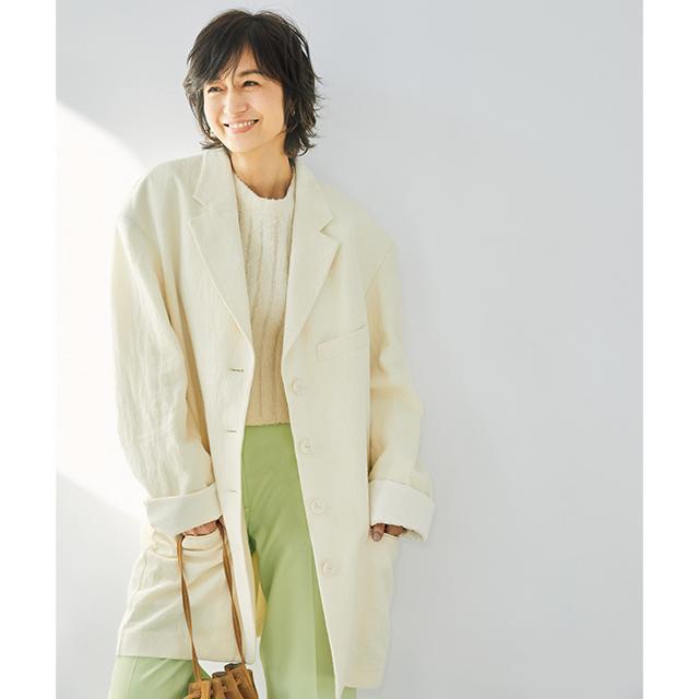 Acne Studiosのジャケット 富岡佳子