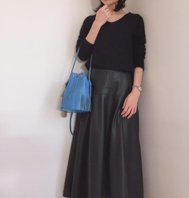【エコレザー】のスカート&パンツで、冬コーデの鮮度がアップ! 40代ファッションまとめ_1_39