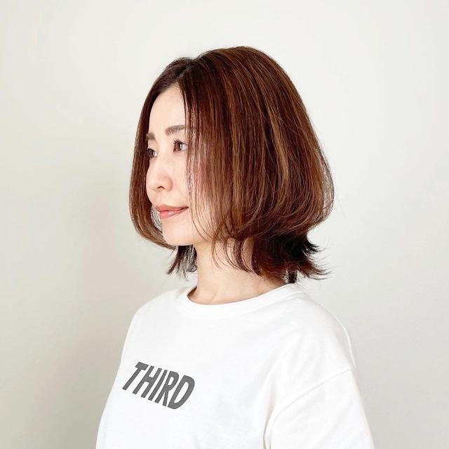 春夏最新!アラフォーくびれボブスタイル【tomomiyuヘア】_1_1