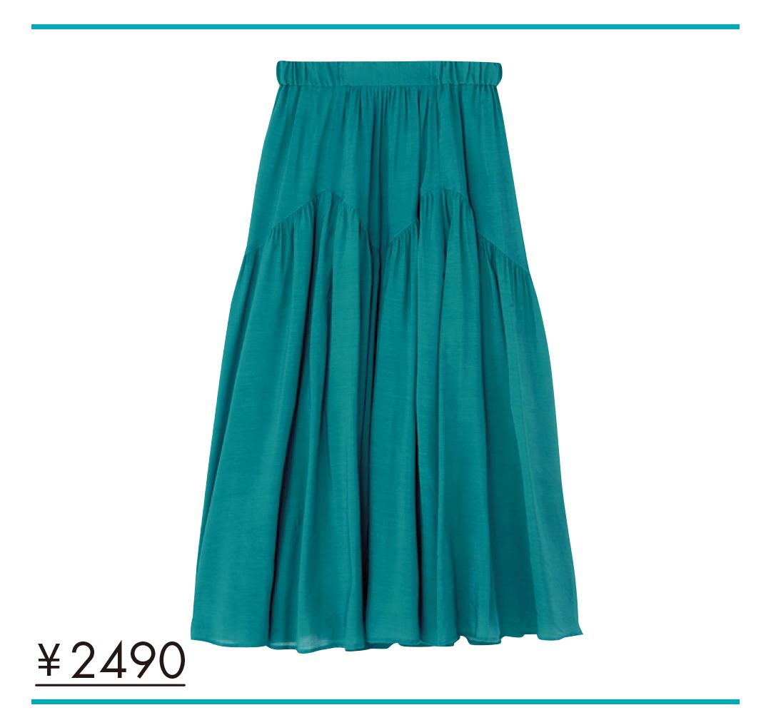 夏色プチプラ★ロングスカート、今買い足してもこんなに着回せる実例&カタログ!_1_5