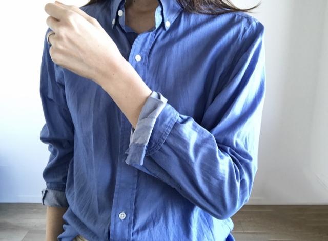 春本番 こなれたシャツの着方をご紹介【40代 私のクローゼット】_1_4-2
