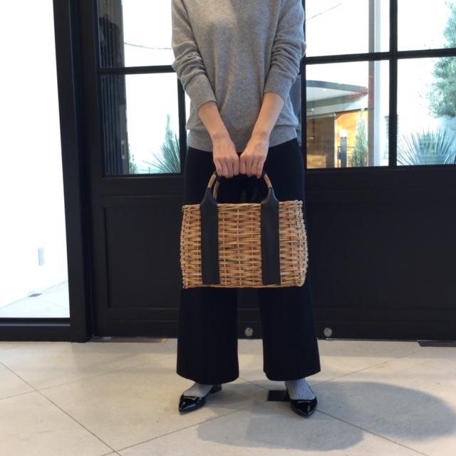 巾着型のインナーバッグ付で使いやすい、VEGETALのかごバッグ_1_1