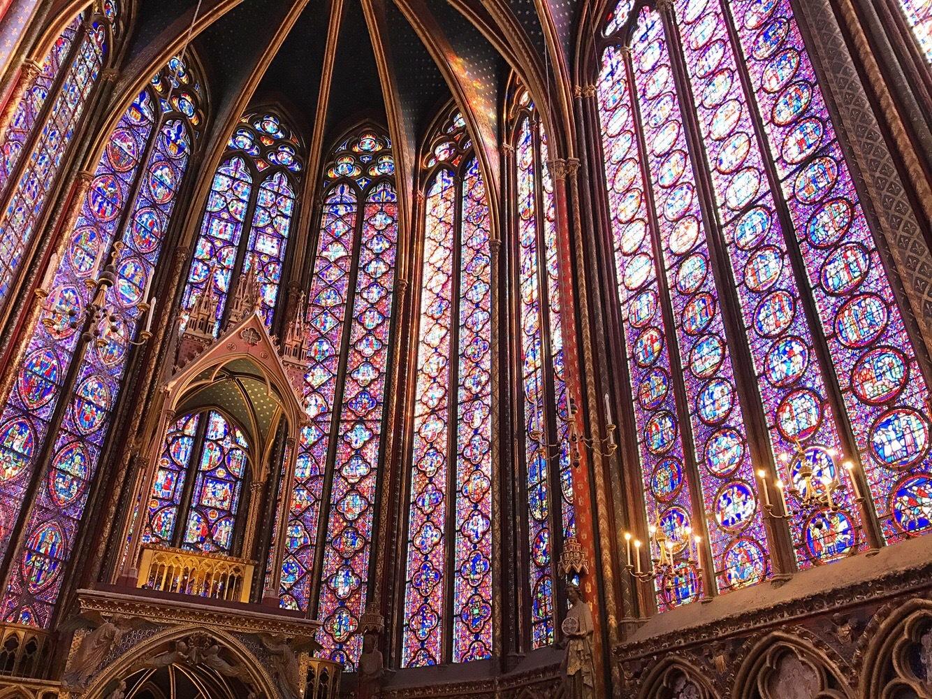 世界一美しい《サントシャペル》のステンドグラス*✩‧₊˚_1_3