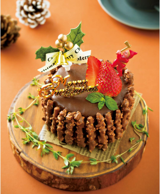 市販のロールケーキをアレンジ♡ ピンクのブッシュドノエルが簡単に!【クリスマススイーツレシピ】_1_3