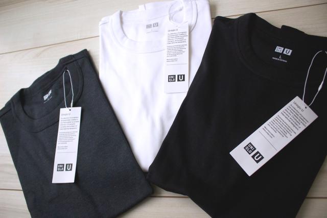 【UNIQLO U】ベーシックカラーのTシャツを新調。_1_1