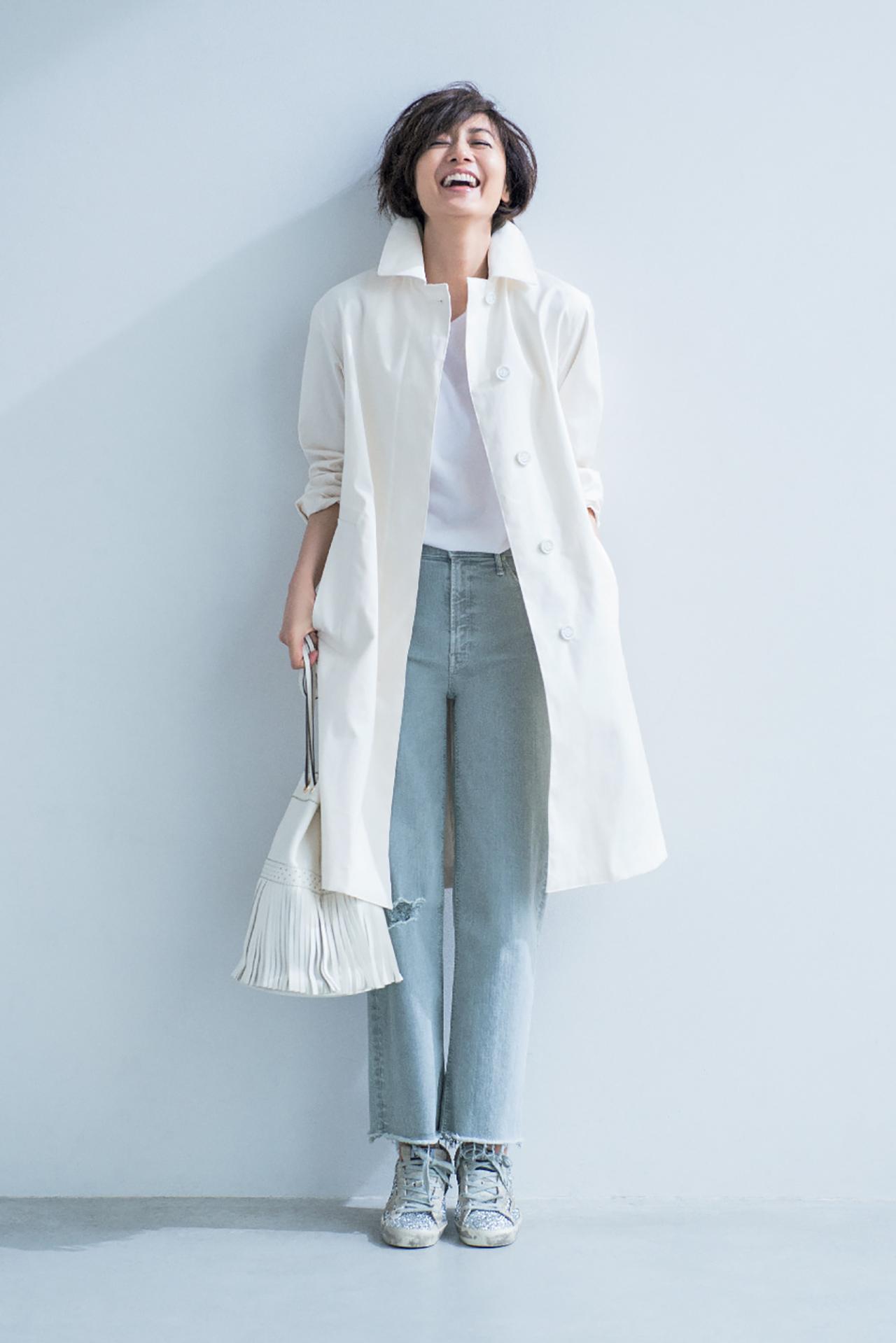 「塩系ワントーン」で、シンプルきれいな大人の着こなしを満喫 五選_1_1
