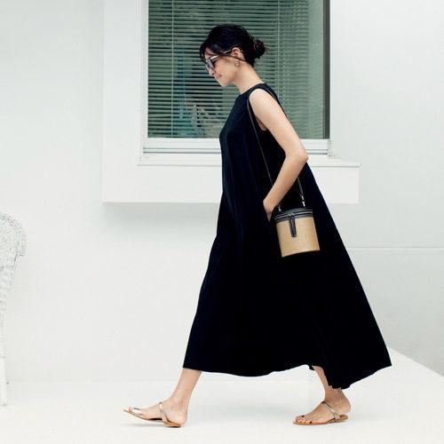 スタイリスト福田亜矢子さんプロデュース「N.O.R.Cのマキシワンピース」