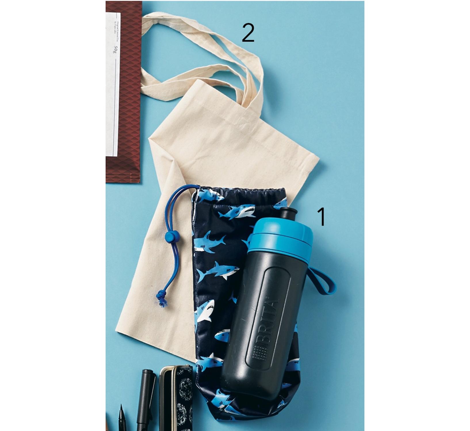 気鋭の書家アーティストのバッグは、ブルーで統一された物語のあるアイテムが美しい!【働く女のバッグの中身】_1_4