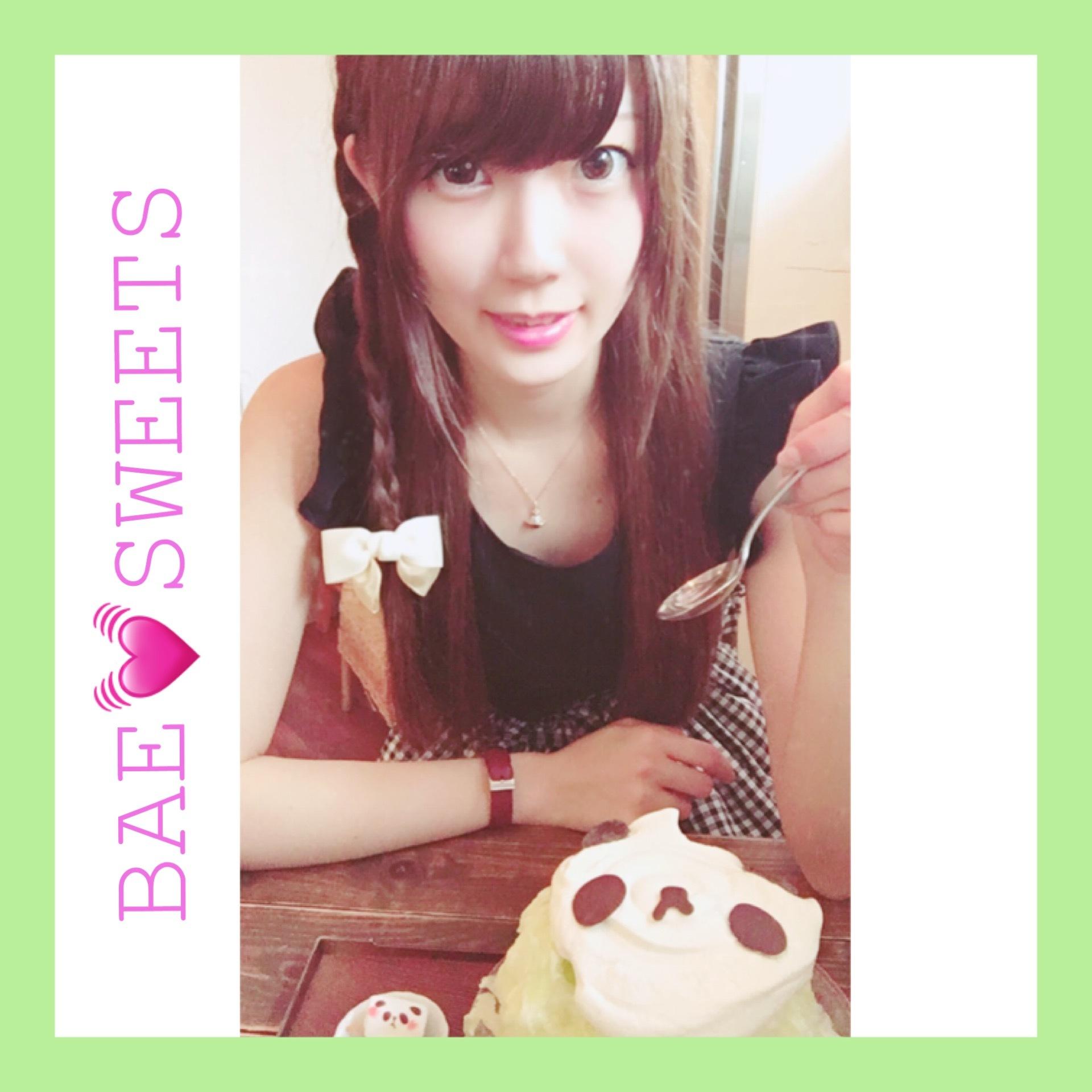 【サカノウエカフェ】メロンパンダ!?かき氷♡♡♡_1_1