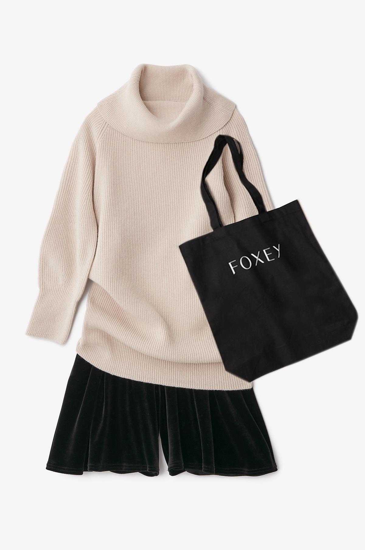 FOXEY チャリティニット for ニットファクトリーを発売 _1_1