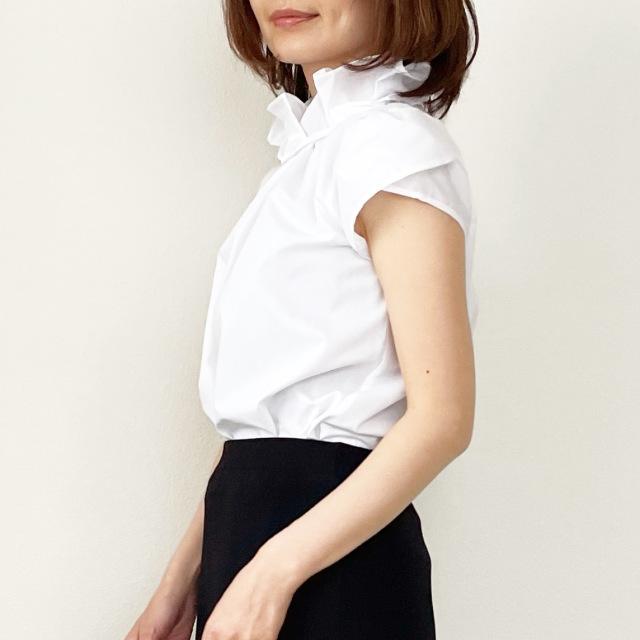 春の白シャツ4スタイル全てお見せします!【tomomiyuコーデ】_1_9