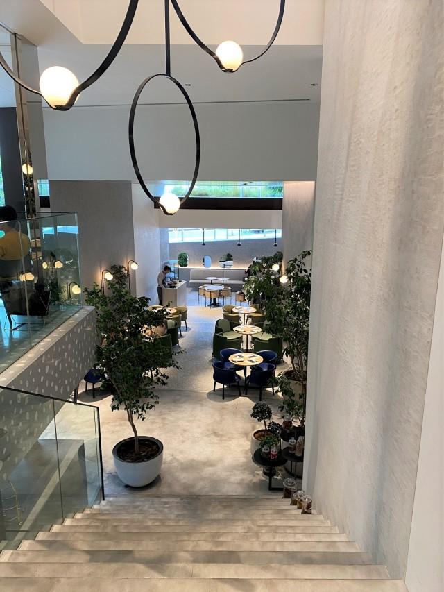 Kashiyama Daikanyamaのカフェも素敵でした