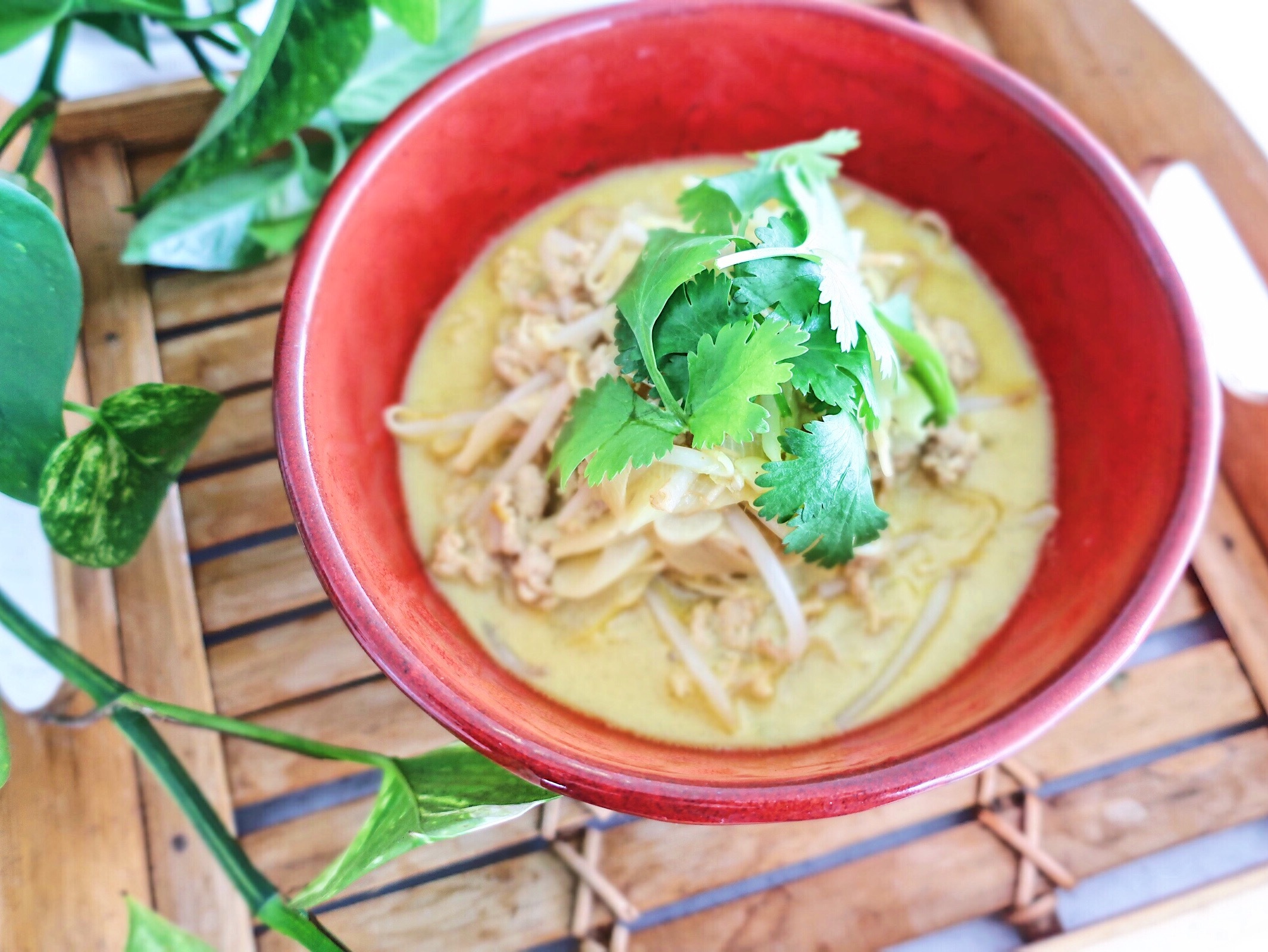 簡単にアジアの味!栄養価の高いココナッツミルクでラクサヌードル!_1_1