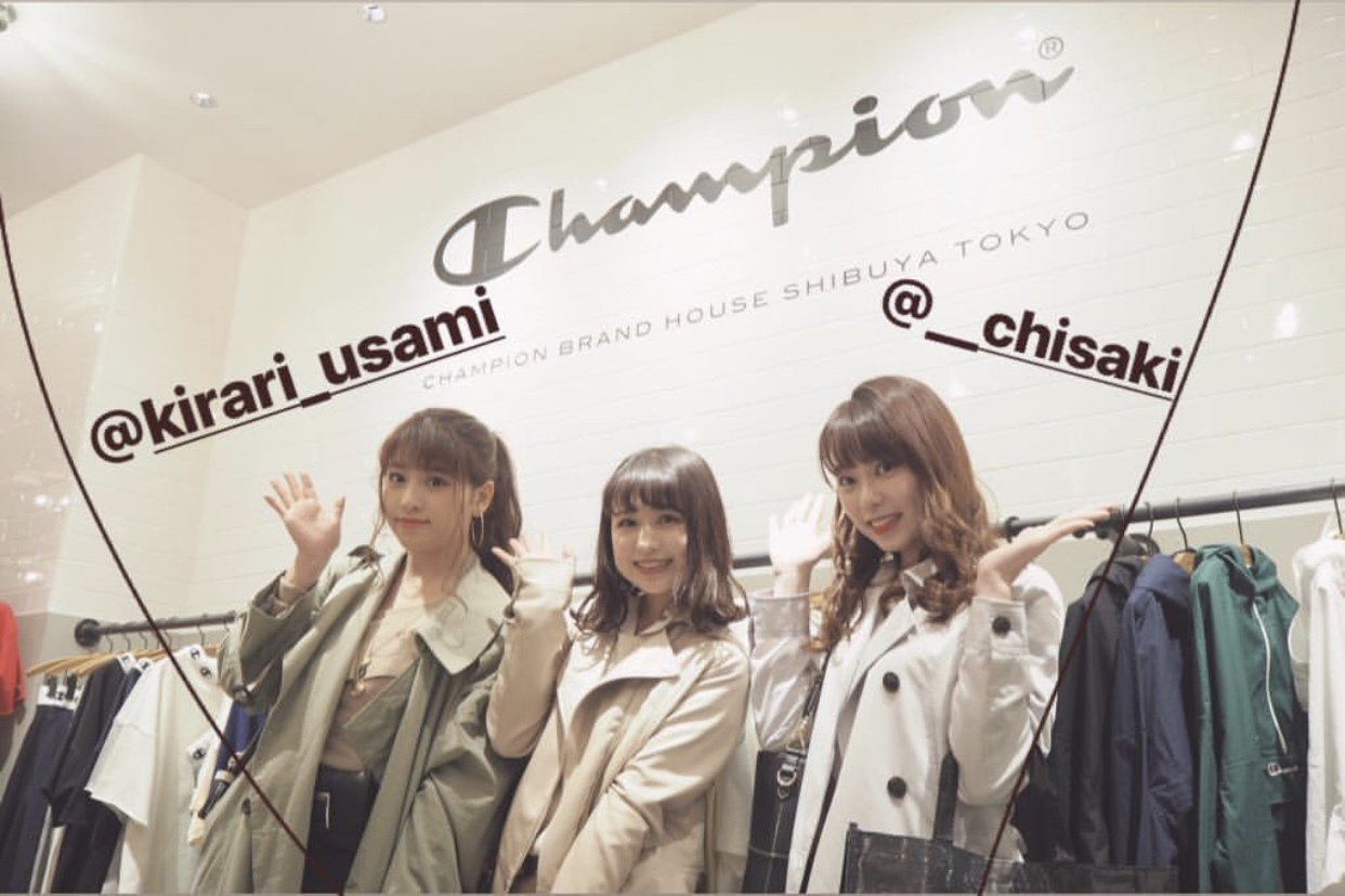 江野沢愛美×Champion コラボイベントに行ってきました!!_1_1