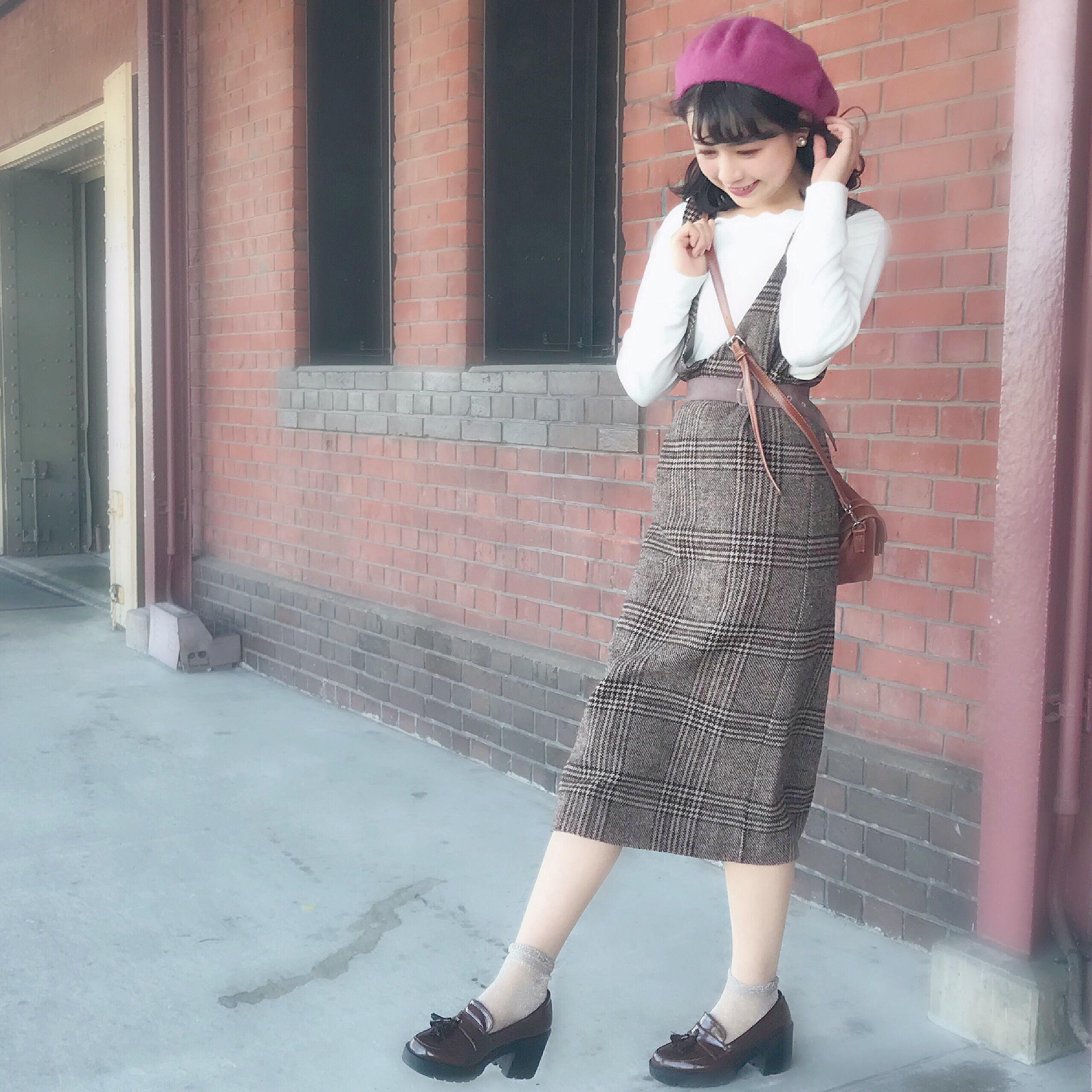 ☃︎秋冬の定番アイテム♡ベレー帽のかぶり方紹介します☃︎_1_10