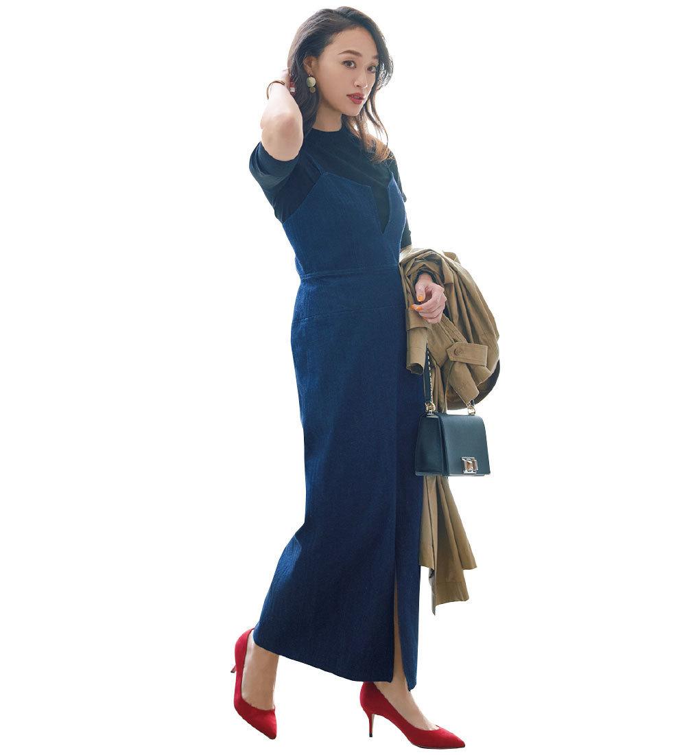 小柄なアラフォー女性におすすめのファッショントレンドは? スタイルアップのテクニック集_1_14