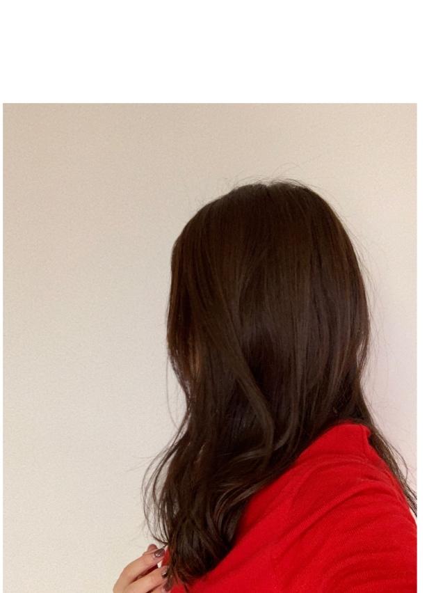 冬のロングヘアはショコラブラウンでふんわり女っぷり。_1_4