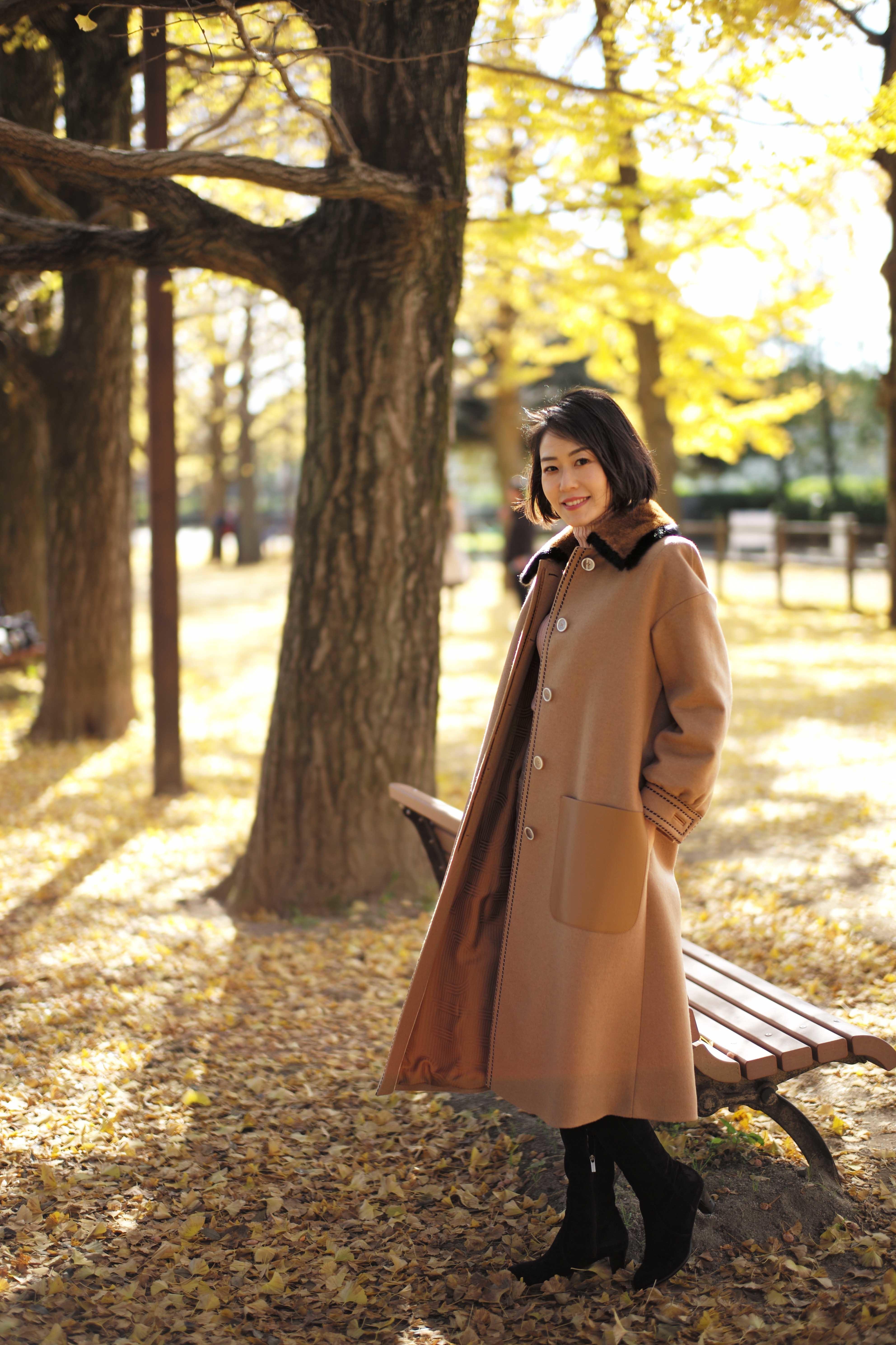 今年のコート ずっと欲しかった「キャメルのロング」_1_2