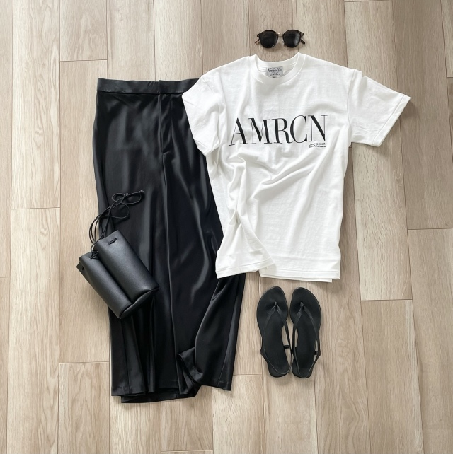 2021春夏 人気ブランドの上質なロゴTシャツ【40代 私のクローゼット】_1_3
