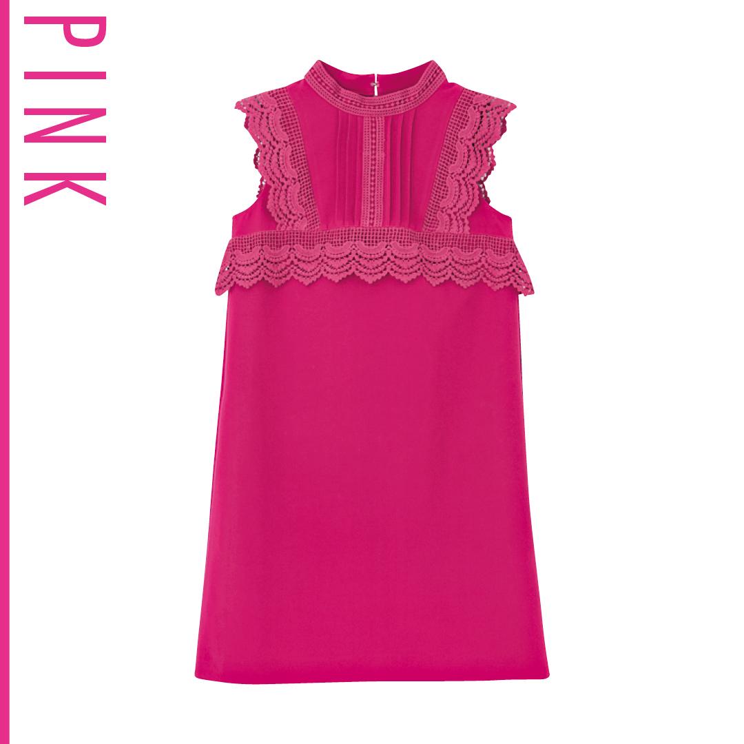 ピンク好きなら、夏は思いっきりヴィヴィッドな発色にトライ!_1_3-2