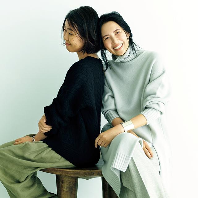 浜島直子×村山佳世子の大人のおしゃれ対談