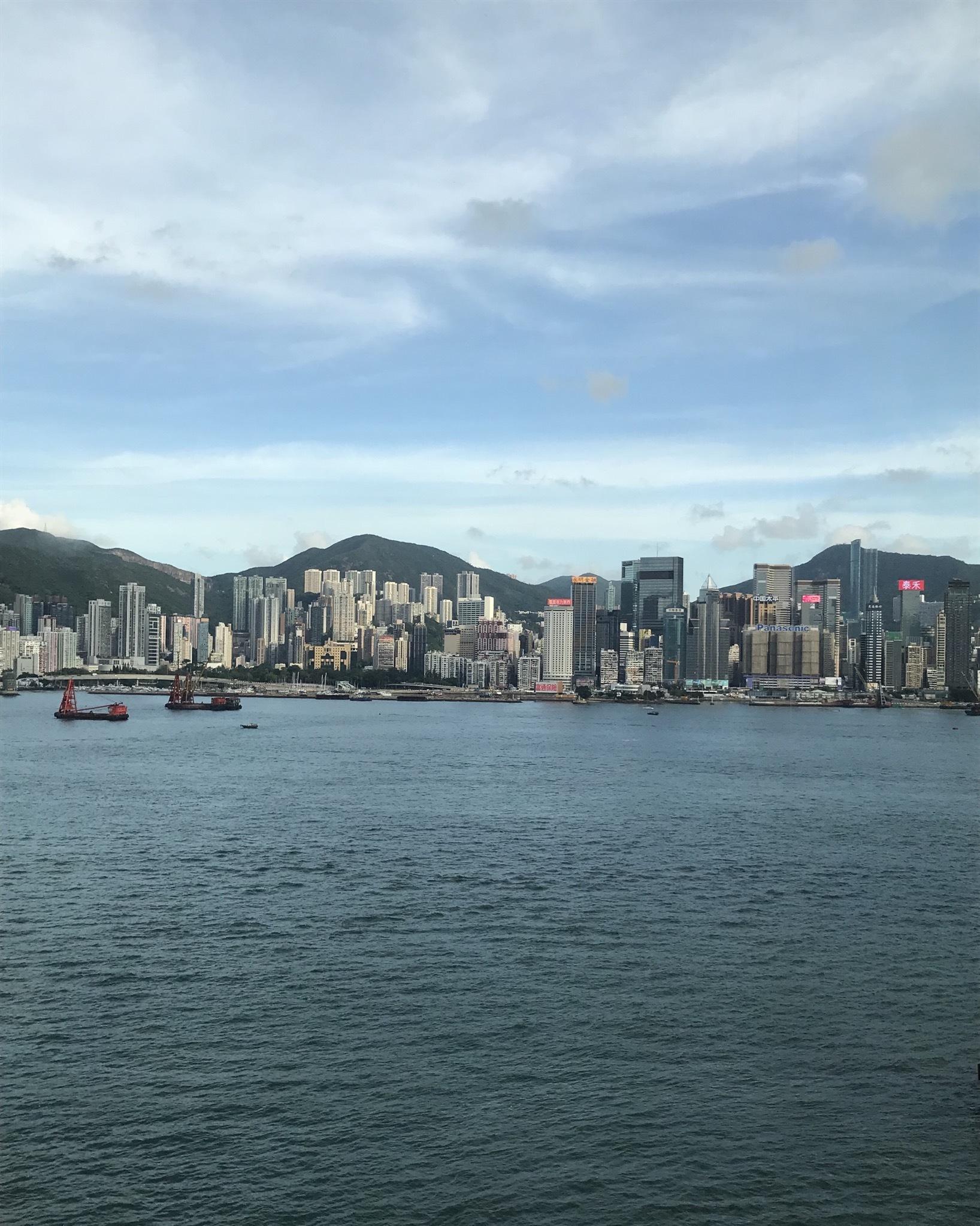 ハッピーバースディ IN 香港☆涼楽な旅服で美味しく。アクティブに!_1_1