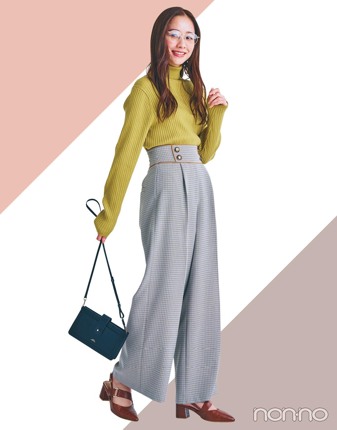 """【2021年ファッショントレンド vol.9】""""オーバーサイズ""""は卒業! 春はウエストマークでスタイルアップが正解!_1_4"""