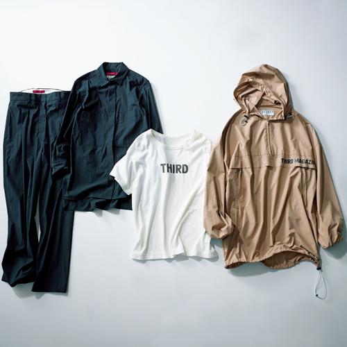 サードマガジンのパーカ、Tシャツ、セットアップ