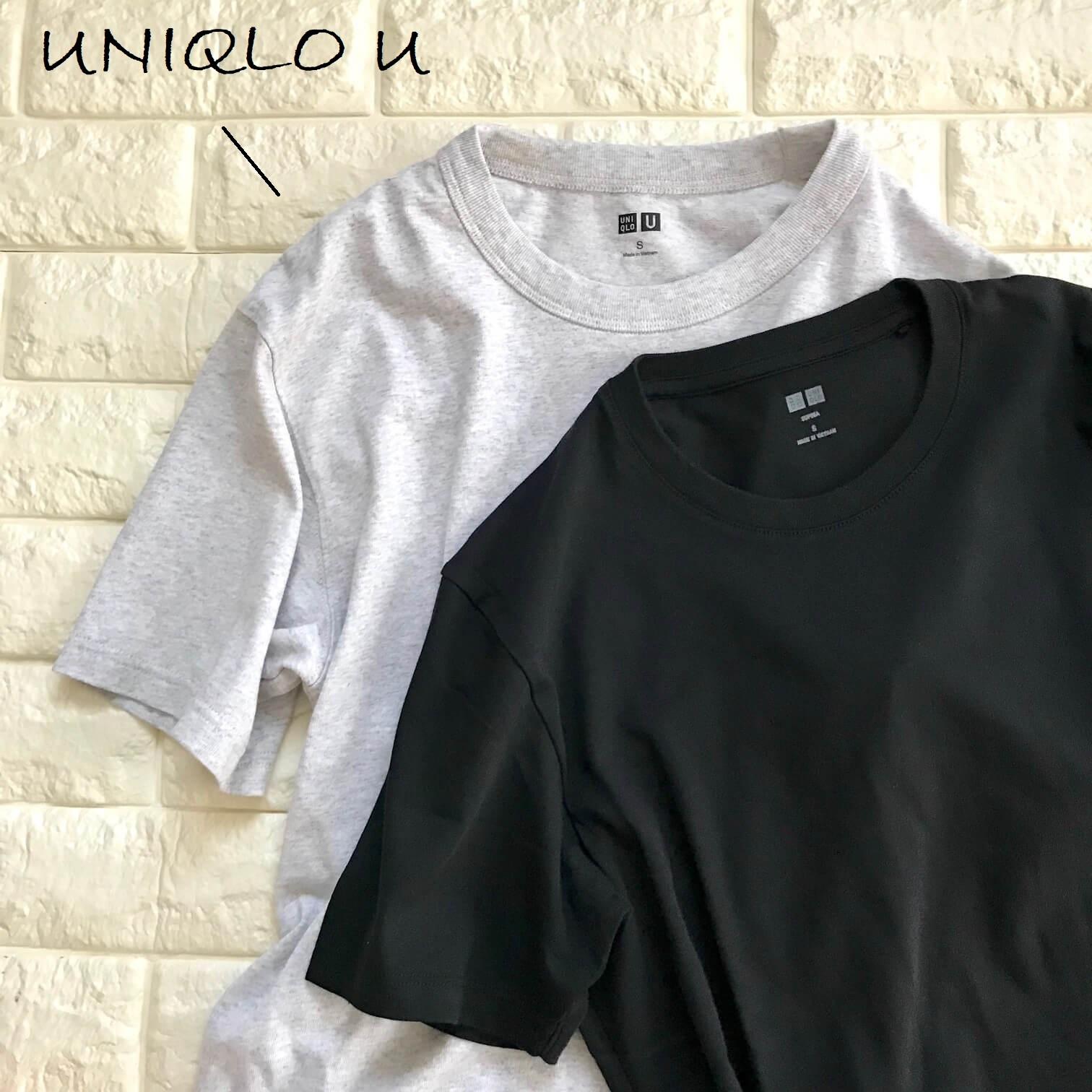 ユニクロUTシャツと並べた画像